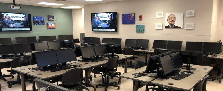 Financial Research and Investments Computer Lab