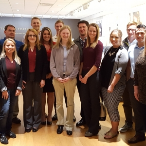 EKU Accounting students and faculty visit Tempur Sealy International