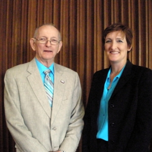 Dr. Jack Dyer and Dr. Mary Beth Holbrook